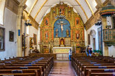 Carmel Mission San Carlos Borromeo in Carmel,Church — Stock Photo