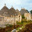 Old trullis in Alberobello — Stock Photo