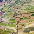 Aerial of rural landscape nar Madrid  — Stock Photo
