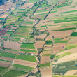 Aerial of rural landscape nar Madrid — Stock Photo #34758967