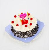 Sweet birthday cake — Stock Photo