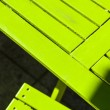 Detail of summer outdoor furniture — Stock Photo