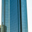 Stock Photo: Facade of high twin towers Deutsche Bank I and II