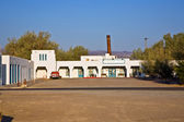 "Amargosa Opera House & Hotel in village ""Death valley Junction"" — Stock Photo"