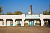 "Hotel in village ""Death valley Junction"" an old Borax Mining sp — Stock Photo"