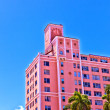 Beautiful historic buildings in Miami in the Art deco district — Stock Photo #35501025