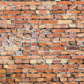 Pattern of old historic brick wall — Stock Photo