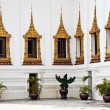 Parade of the kings Guards, in the Grand Palace, Changing the Gu — Foto Stock