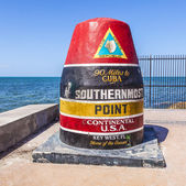 Southernmost Point marker, Key West, USA — Foto Stock