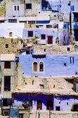Ma'loula nebo aramejštinou, malé křesťanské vesnice v rif dimash — Stock fotografie