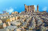 Ancient Roman time town in Palmyra, Syria — Stock Photo