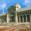 The Omayyad Mosque with clear blue sky — Stock Photo