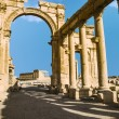 Ancient Romtime town in Palmyra, Syria — Stock Photo #36049985