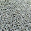 Pattern of cobble stones at the paveway — Stock Photo