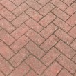 Red bricks in harmonic pattern — Stock Photo #37765119