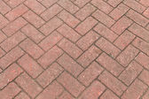 Red bricks in harmonic pattern — Stock Photo