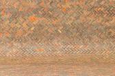 Harmonic red brick wall background — Stock Photo