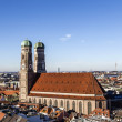 Church of Our Lady (Frauenkirche) in Munich (Germany, Bavari — Stock Photo #38012989