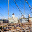 brooklyn bridge in new york — Stock Photo #39483019