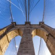 brooklyn bridge in new york — Stock Photo #39483039