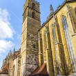 St. Jakobs-Church at Rothenburg ob der Tauber — Stock Photo