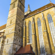 Stock Photo: St. Jakobs-Church at Rothenburg ob der Tauber