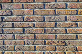 Harmonic pattern of wall structure — Stock Photo