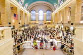 People in Grand Central — Stock Photo