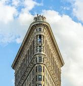Facade of the Flatiron building — Stock Photo