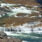 Cascade of salt river in arizona — Stock Photo
