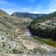 Salt river canyon — Stock Photo