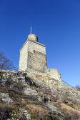 Famous old castle Falkenstein — Stock Photo