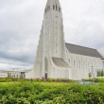 Hallgrimur church in Reykjavic — Stock Photo #40655663