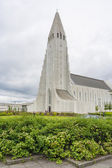 Hallgrimur church in Reykjavic — Stock Photo