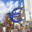 Stock Photo: Euro Sign in Frankfurt