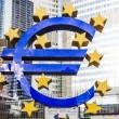 Euro Sign in Frankfurt — Stock Photo #40981485