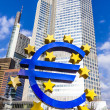 Euro Sign in Frankfurt — Stock Photo #40982879