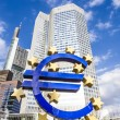 Euro Sign in Frankfurt — Stock Photo #40983799