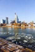 City of Frankfurt, Germany  — Stock Photo