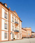 The palace of Wiesbaden Biebrich, Germany — Stock Photo