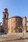 Iglesia en frankfurt (alemania) — Foto de Stock