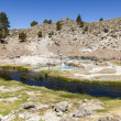 Hot springs at hot creek geological site — Stock Photo #41590197
