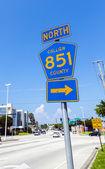 Ulice severní collier trasa 851 — Stock fotografie