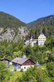 Castle and hotel Fernsteinsee in Tirol, Austria — Stock Photo