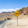 Stock Photo: Artists Point Along Artists Drive, Death Valley National Park