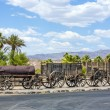 Постер, плакат: Old waggons in the Death valley