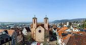 Famous sankt peter church in Gelnhausen — Stock Photo