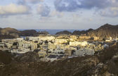 Historical city of Muscat in Oman with royal palace — Stock Photo