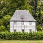 Goethe's Garden House at Park an der Ilm in Weimar — Stock Photo #43128191