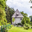Goethe's Garden House at Park an der Ilm in Weimar — Stock Photo #43128539